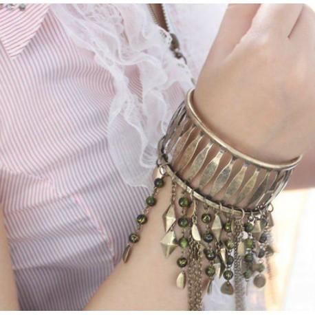 Bracelet large pampilles