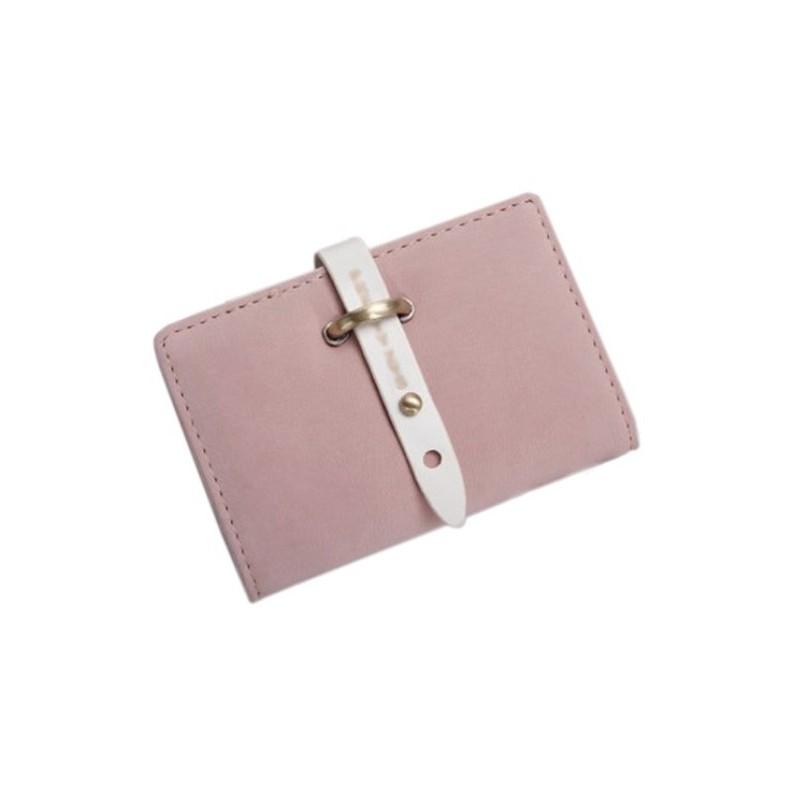 Porte carte de fid lit rose poudr for Porte carte de fidelite