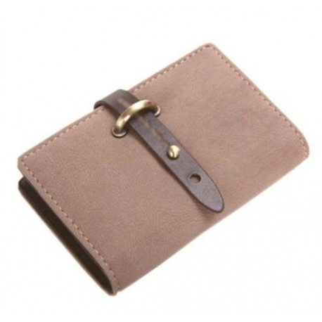 Porte cartes de fid lit marron for Porte carte de fidelite