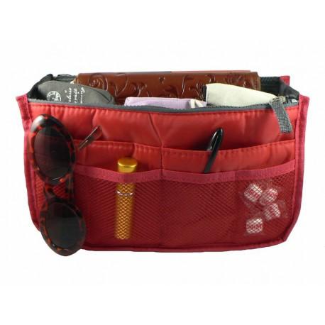 Organisateur de sac rouge