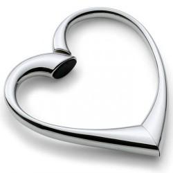 Accroche sac à main coeur pliable