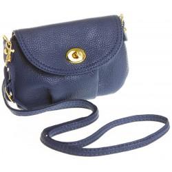 Petit sac bandoulière bleu