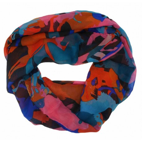 Petit foulard multicolore