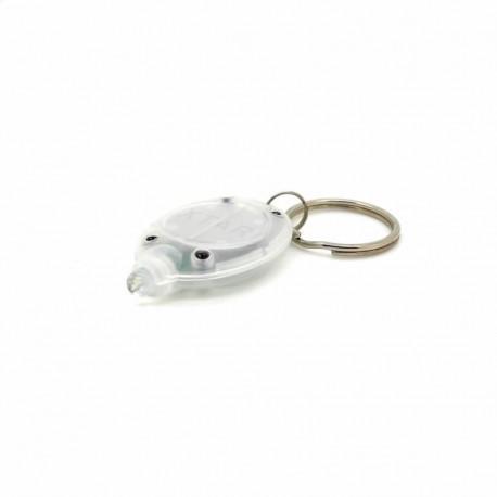 mini lampe porte-clés blanche à led