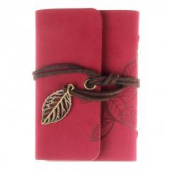 Porte cartes de fidélité rouge