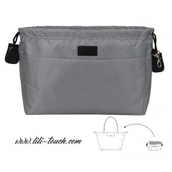 Organisateur pour grand sac gris