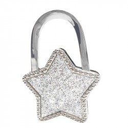 Accroche sac étoile strass
