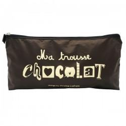 Trousse de sac chocolat caroline Lisfranc