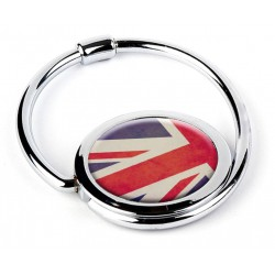 "Accroche sac pliable ""Union Jack"""