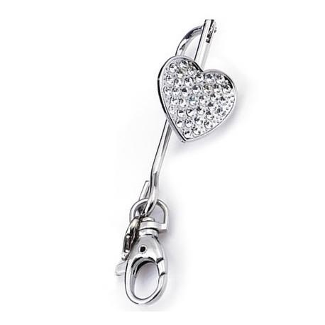 """Accroche clés pour sac """"Coeur"""""""